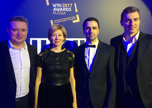 IVAPER. Премия WinAwards Russia 2017